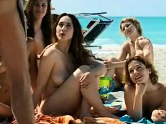 Exotic amateur Beach, Outdoor banging scene