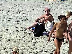amateur beach voyeur babes lesbians