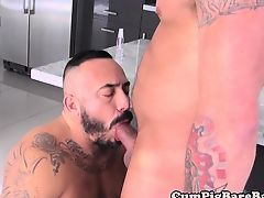 blowjobs gays deep throat chubby