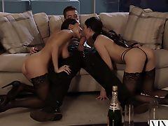 handjob threesome amateur blowjobs stocking