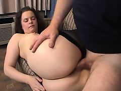 amateur ass brunette hardcore anal