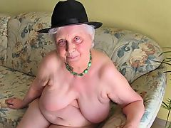 amateur bbw granny solo masturbate