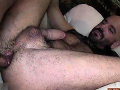 cumshot gays ass lick slave