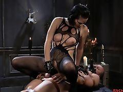 bdsm femdom fetish latex spanking