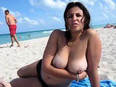 amateur big tits tits outdoor homemade