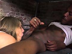 blowjobs cumshot facials interracial big cock