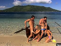 anal beach cumshot group sex outdoor