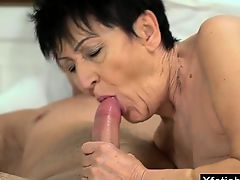 brunette granny hardcore old+young big tits