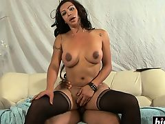 anal big tits blowjobs shemales stocking