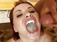 incredible cum swallow