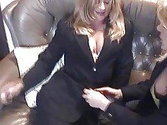 milf lesbians stockings