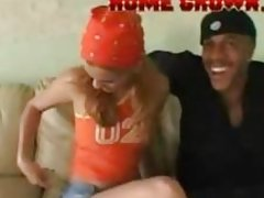Black Gangster Interracial Porn Fucks Teen White Beauty