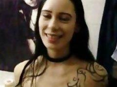 Voyeur horny emo girlfriend fuck