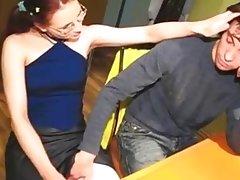 horny teen couple fucking redhead