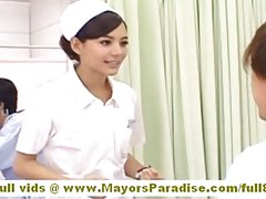 hot asian nurse naked playing