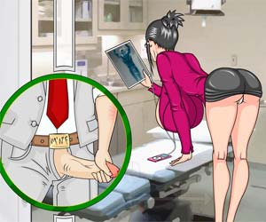 college nurse game wet infirmary