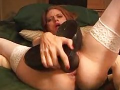 amateur monster dildos squirt self