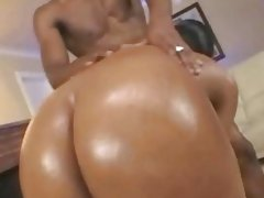afro wet butt riding hardcore