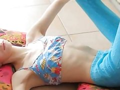 superskinny doll babe pose
