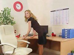 clip sexy secretary stripping
