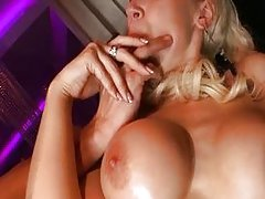 British blonde fucked in the club