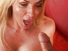 couple vaginal sex masturbation oral sex blonde