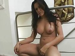 shemale masturbation brunette big tits latin