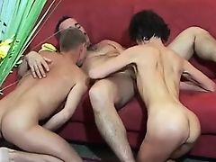 mmf hardcore group sex