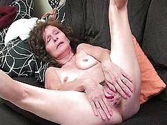 pussy granny asian hairy masturbate