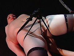 dyke domination chocolate pussy bondage