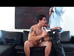 chocolate boss assfucked oral sex office
