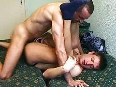 rimming gays brunette anal bareback