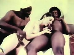 retro vintage threesome hardcore babes