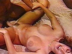 couple big tits tits brunette vintage
