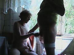 wife jerking matures handjob blondes