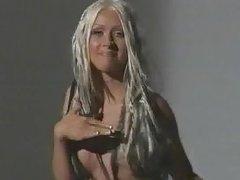 christina nipple video