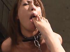 dyke slave mistress lesbians foot