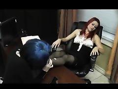 femdom lesbians pantyhose panty