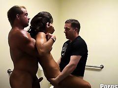 brunette group sex hardcore threesome foursome