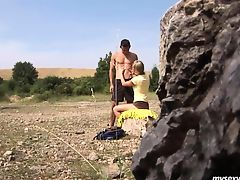 blondes outdoor teens innocent pussy