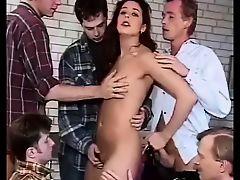 classic ass gangbang group sex