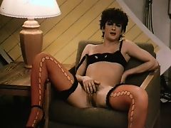 vintage lingerie hairy femdom