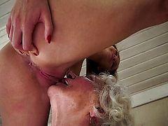 dyke pussy oral sex lick masturbate
