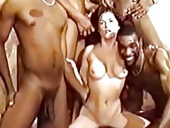 white girl interracial creampies