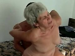 granny fucking couple