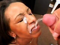 amateur facials babes cumshot black