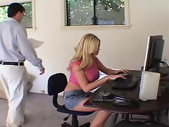 blondes blowjobs hardcore office boss