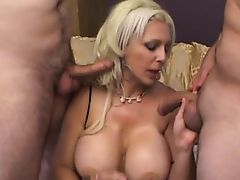 blondes threesome mmf