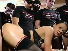 gangbang german babes brunette hardcore