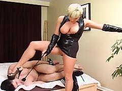 femdom babes big tits blondes tits